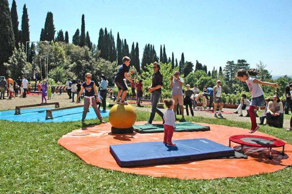 Campus Estivi di Circo in ville Medicee fiorentine