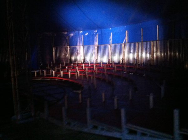 Ripresa del tour di circo a Firenze