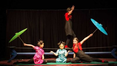 Un pizzico di sale, Spettacolo di Cabaret dei piccoli circensi