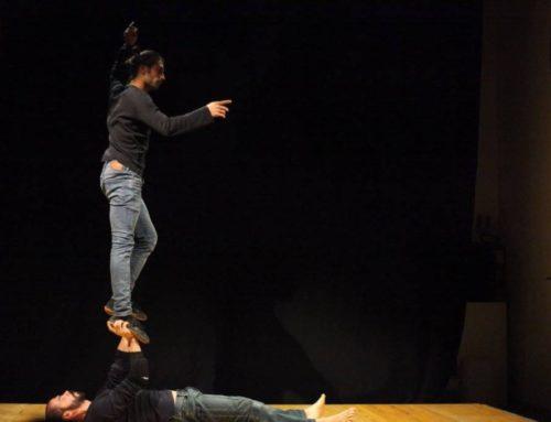 Workshop di acro-porter con Gigi Miranda