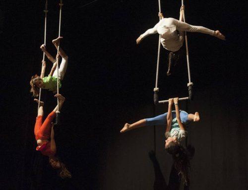 Workshop di danza aerea con gli insegnanti di Circo Libre